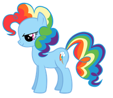 Rainbow Pie vector by Durpy