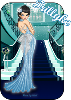 Glamorous Blue Dress by Trilly21