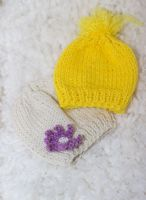 Knitted baby hat by Mary-SD