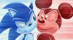 Blue Blur and Red Star by Ahyuck