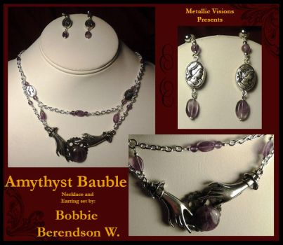 Amythyst Bauble by MetallicVisions