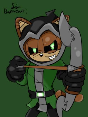 Gareth Ferret: Aiming by SirBurnout