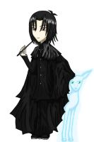 Severus Snape And His Patronus by TheCoffeeFairyChan