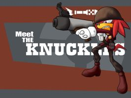 Meet the KNUCKLES by cumeoart