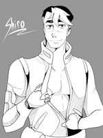 Voltron- Daddy Shiro by twintailmonkey