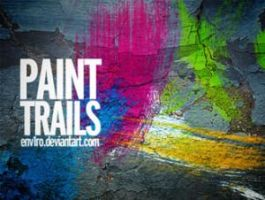Paint trails by analeewon