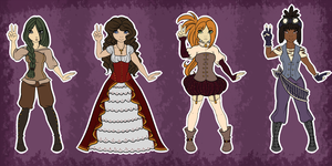 [C] Point Steampunk Adopts by LateLatte
