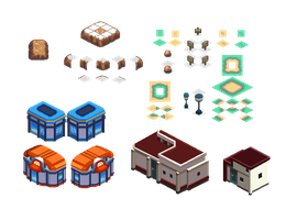 All my iso tiles so far :D by GroudonMcL