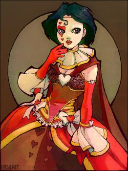 queen of hearts by loish