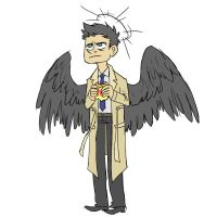 Castiel you so Fly by LizzieDaKittie