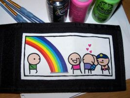Custom Wallet: C+H - Rainbow by kustom-kicks