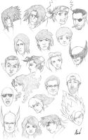 470th Head Sketches by M053AB