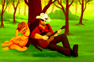 Play me a southern tune by elkerae