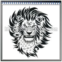 Tattoo Design 024 - Lion by StriderDen