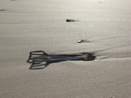 tongs in the sand by Roooskiii69