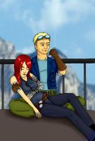 Cid and Resia by CaptainNellio