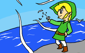 Wind Waker Link by Iluvtoonlink