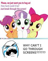 Y U No Break Fouth Wall??? by artsofallkinds