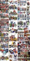 MY Transformers collection by bokuman