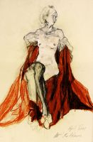 Homage to Egon Schiele IV by uterathmann