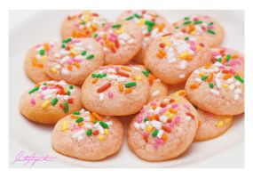 Pink Sugar Cookies by VintageWarmth
