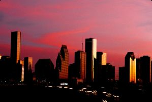 Houston Skyline 8 by Art-Photo