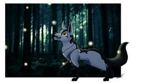 Fireflies by beatrizearthbender