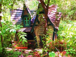 The Faerie House by Belle-Reveur
