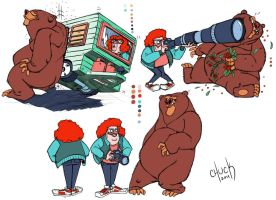 Brown Grizzly 2 color by ChuckDoodles