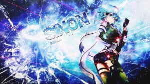 Sinon Wallpaper 4 by Dinocojv