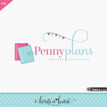Planner Logo Design by KirstenLouiseArt
