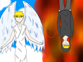 Heaven and hell by Avrodite
