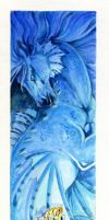 Seahorse bookmark by Hbruton