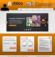 Layout - Publico Comunicacao by lcdesigner
