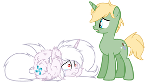 Shydrop and Charlie Hoof Sheen by bettybop920
