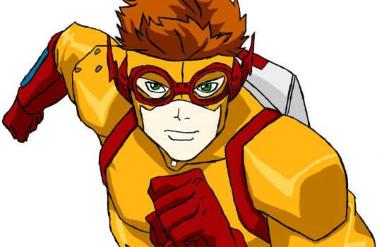 Kid Flash by boobyr00de