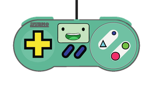 BMO SNES Controller! (Adventure Time) by ChanceH
