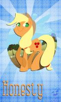 Applejack: Honesty by bunnimation