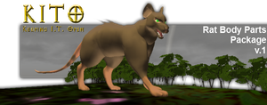 KITO Playable Rat Body Parts - Download by Some-Art