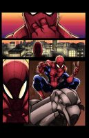 Spiderman practice page (COLORS) by MadcapLLC