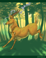 The Swag Stag by DaffoDille