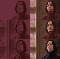 Snape Progress by chacuri