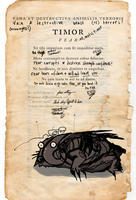 Strange documents 1- fear by AndHeDrew