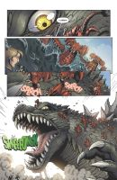 Godzilla Rulers of Earth issue 4 - page 3 by KaijuSamurai