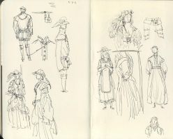 Tortall Wardrobe Research 1 by Maseiya
