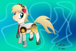 Commission - Aigis the Pony by Aotsuken