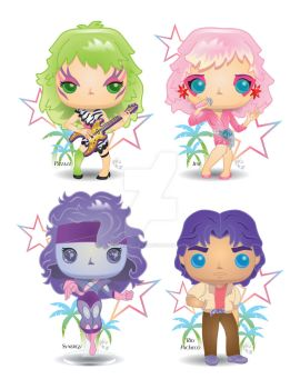 Pop! JEM and the Holograms by CBeeProject
