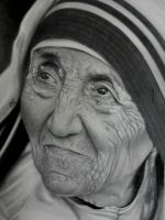 Mother Teresa by richardbgomes