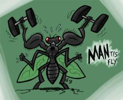 MANtis Fly by GagaMan