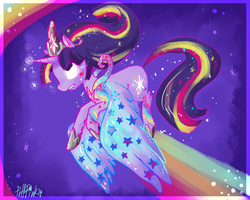 Princess of the Stars by PuffPink